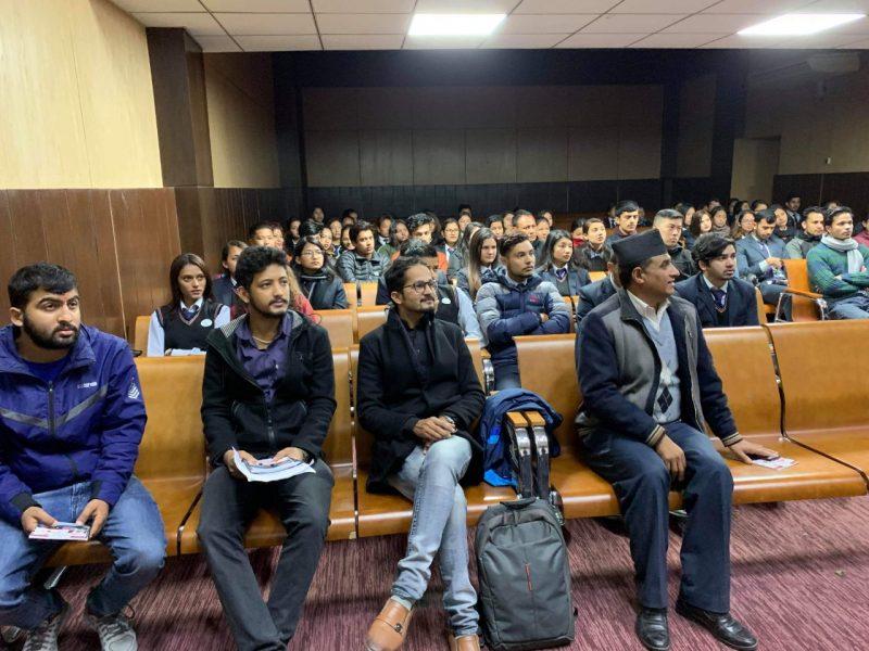 photo 2 of seminar at swsc - kartik 2075